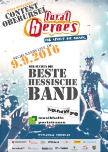 Contest Plakat Local Heroes Oberursel